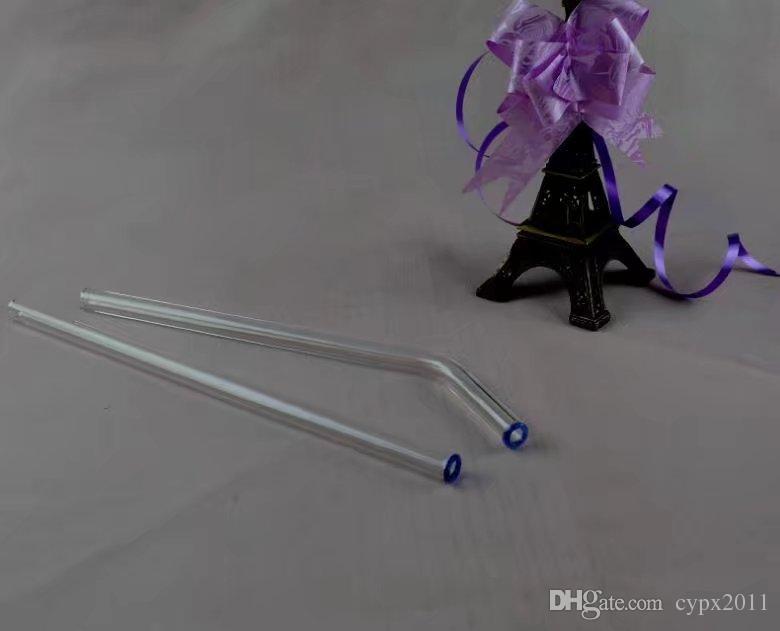 Glaspipette Länge 23cm Durchmesser 10mm, Wasserpfeifen Glasbongs Hooakahs zwei Funktionen für Ölplattformen Glasbongs