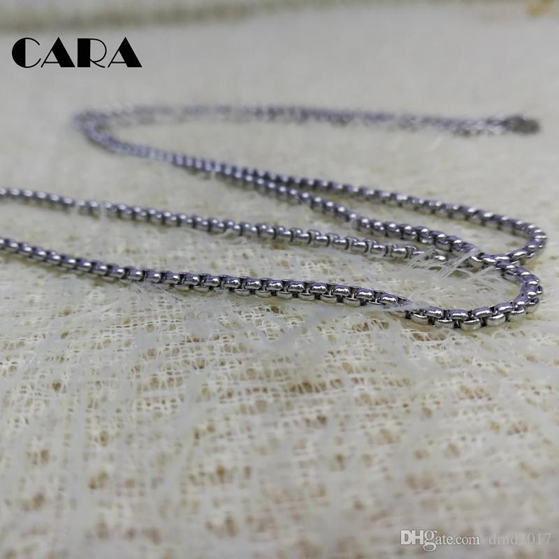 New Arrival Gold plated 2mm popcorn chain necklace stainless steel versatile 3mm thin popcorn chain necklace,CARA0001