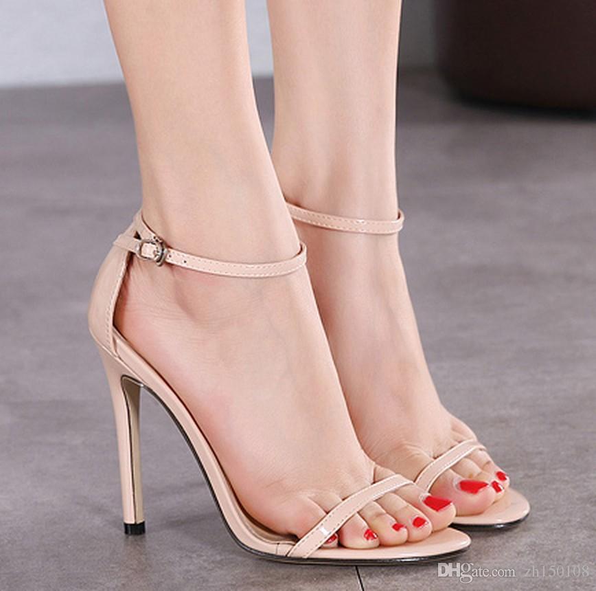2017 Summer Shoes Woman High Heels Sandals For Women ...