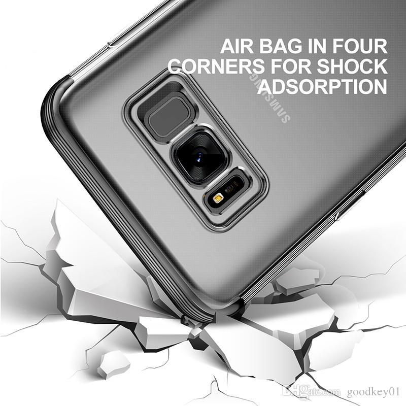 2178216f3e 2017 Armor Case For Samsung Galaxy S8 Capa Funda Soft TPU Protective ...