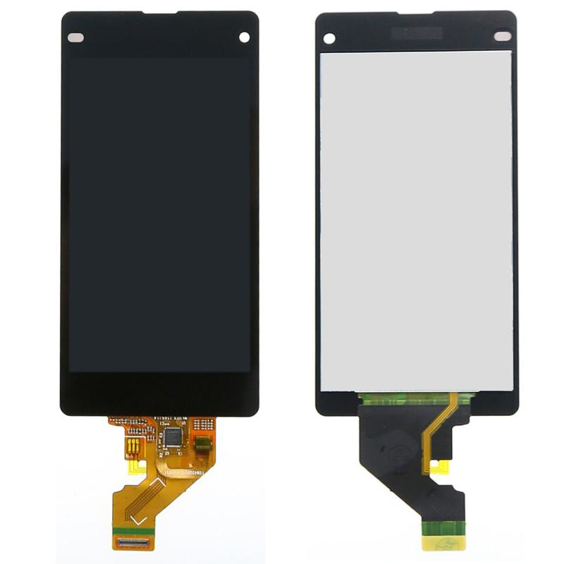 Sony Xperia Z1 Mini Compact D5503 Touch Digitizer LCD Screen Assembly Assembly nero parti di riparazione