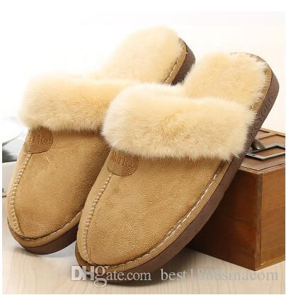 Ciabatte Acquista 2018 Cotone Pantofole Di Calde Uso Invernali eEDWYHI2b9