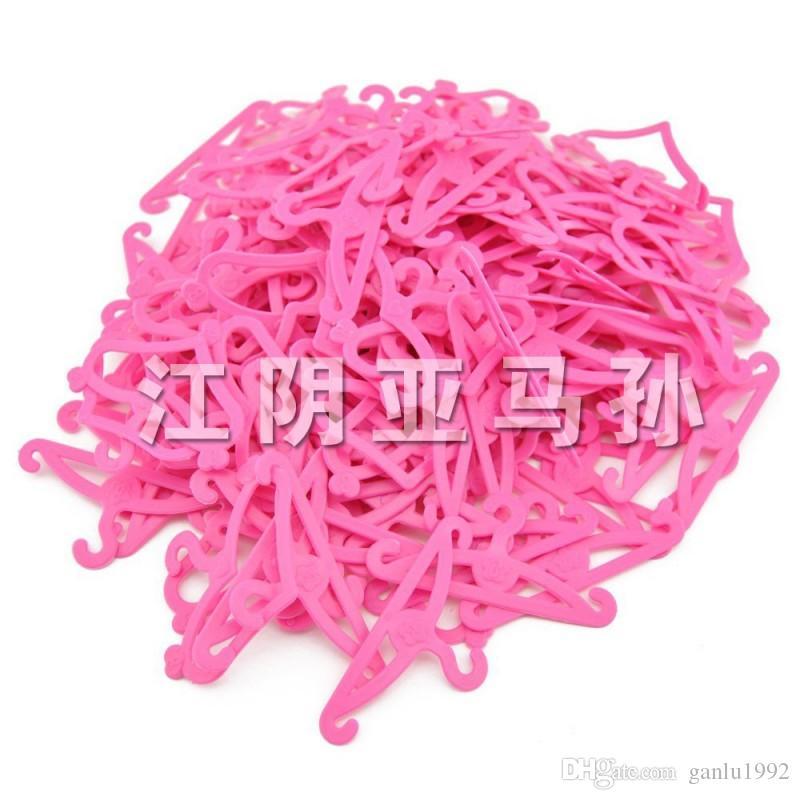 Juguete Muñeca Suspensión Rosa Plástico En forma de corazón Gancho Ganchos Muñecas Accesorios Dos estilos Puro hecho a mano de alta calidad 0 8jy I1
