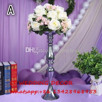 2019 Light Purple Wedding Table Centerpiece Flower Ball Wedding