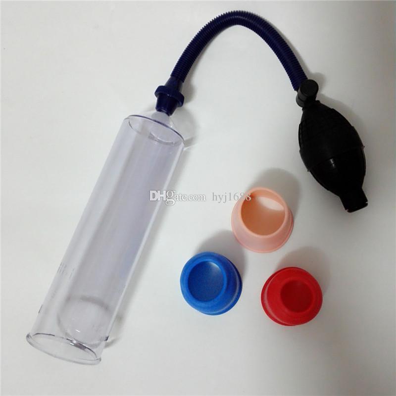 Penis Pump Handsome Up Penis Enlargement Device Vacuum Pump Penis Extender Enlarger Sex Toys Products for Man