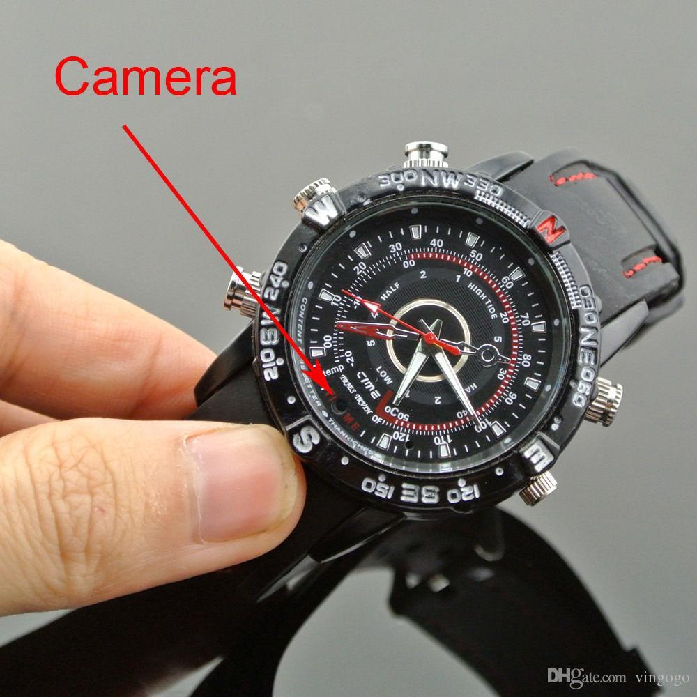 8 GB 1280x960 Mini Su Geçirmez Bilek İzle Dijital Kamera Video Kaydedici Kamera Mini DVR DV