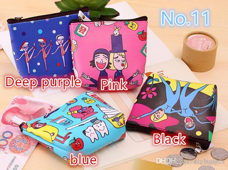 Fashion Purse Cartoon Cat Duck Spiderman Batman Animal Ladies Clutches Coin  Purses Girl Storage Bags Purse For Coins Women Wallet Pouch Small Purses  Fashion ...