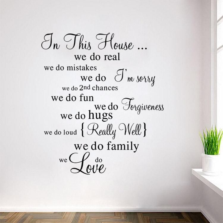Artylicious In This House We Do Disney Inspired Quotes A4 Retro