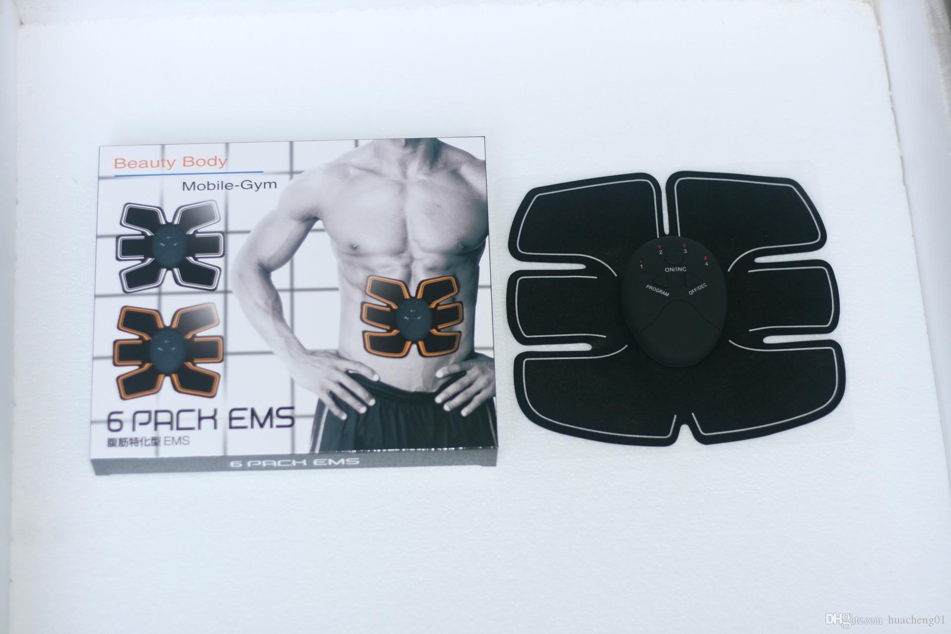 EMS Ab Toner Bauchmuskeltrainer Abdominal Toning Drahtlose Elektronische Muscle System für Abdomen Unterstützung Männer Frauen
