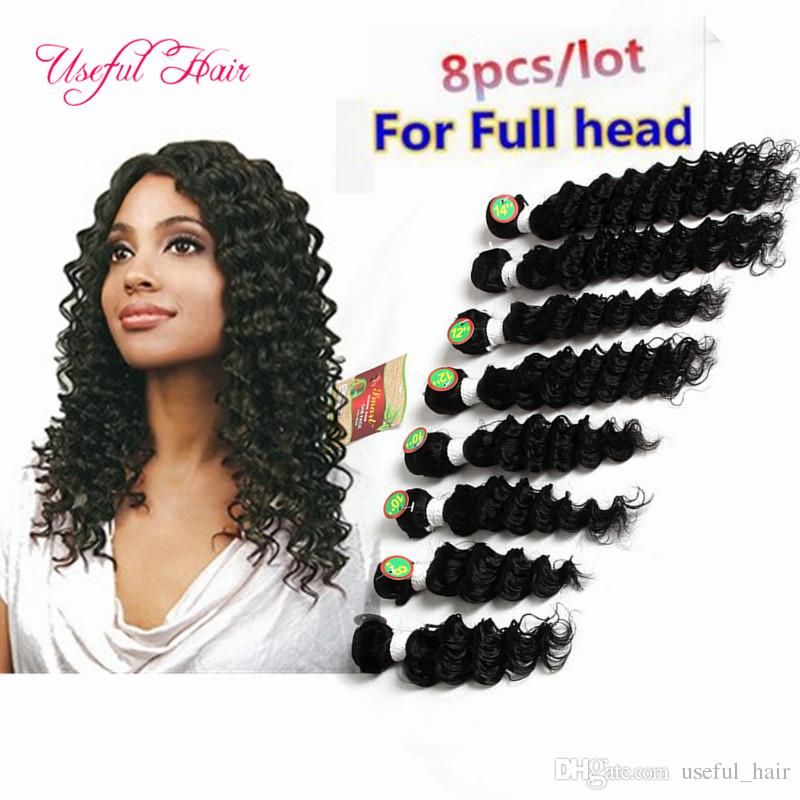 Hot Sale Brazilian Natural Wave 250g Human Unprocessed Hair Sew In hair Extensions DEEP WAVE Female Brazilian Hair BODY wave for black women