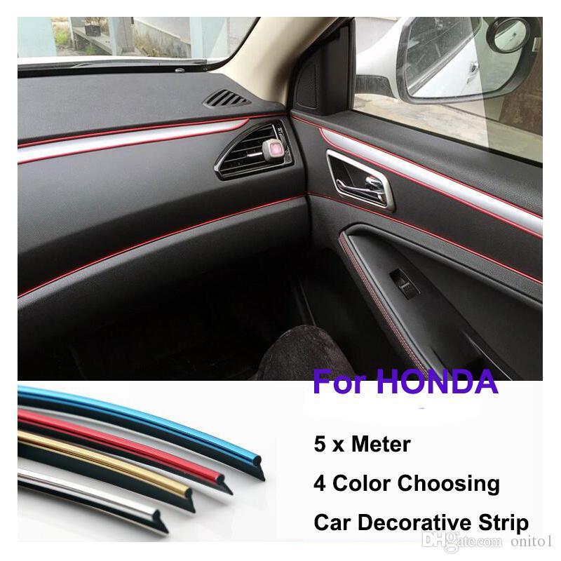 5 Meter Auto Dash Panel Trim Strip Car Rein Side Moulding Decoration Strip  Pvc Decorative Tape Accessories For Car Interior Accessories For Cars  Interior ...