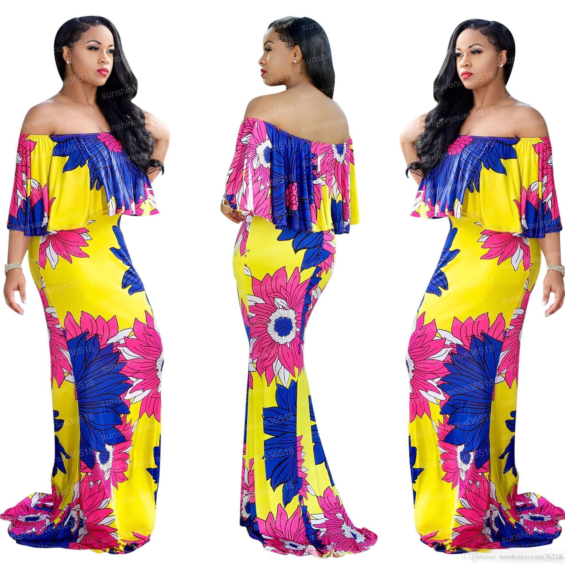 Casual fashion dresses 2018
