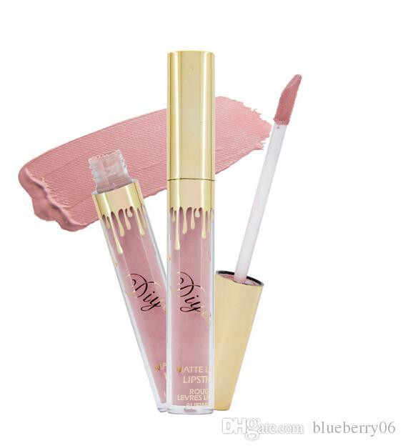 Venta al por mayor de alta calidad nuevo Lipstick maquillaje es brillo de labios duradero antiadherente taza labial glair lipstick un conjunto de 6 piezas