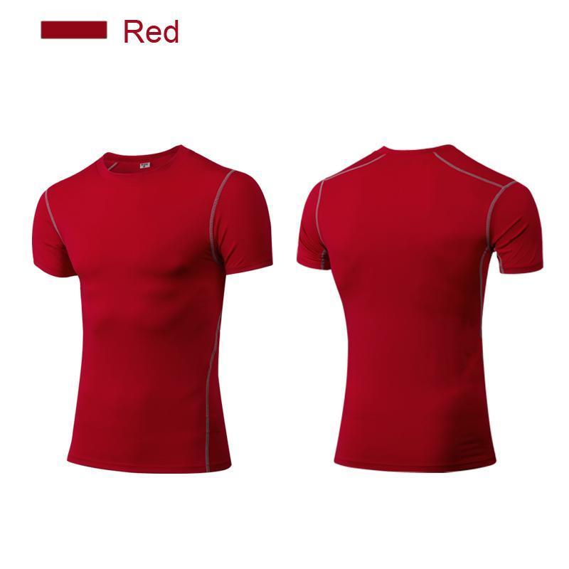 сжатия рубашки мужчины бодибилдинг baselayer мышцы фитнес топ shapwear с коротким рукавом Майка slim fit для тренажерный зал