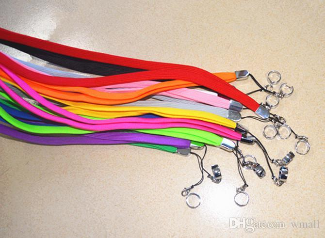 Lanyard Necklace String Neck Chain Sling w/ Clip Ring for Ego Series ego-t ego-c ego-w Electronic Cigarette Hot Selling