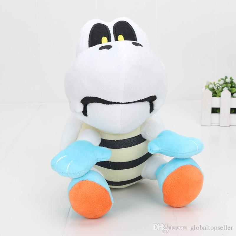 9'' 23cm Super Mario Bro Plush Doll Dry Bones Skeleton Turtle plush Toys Stuffed Dolls Kids Toys Gifts