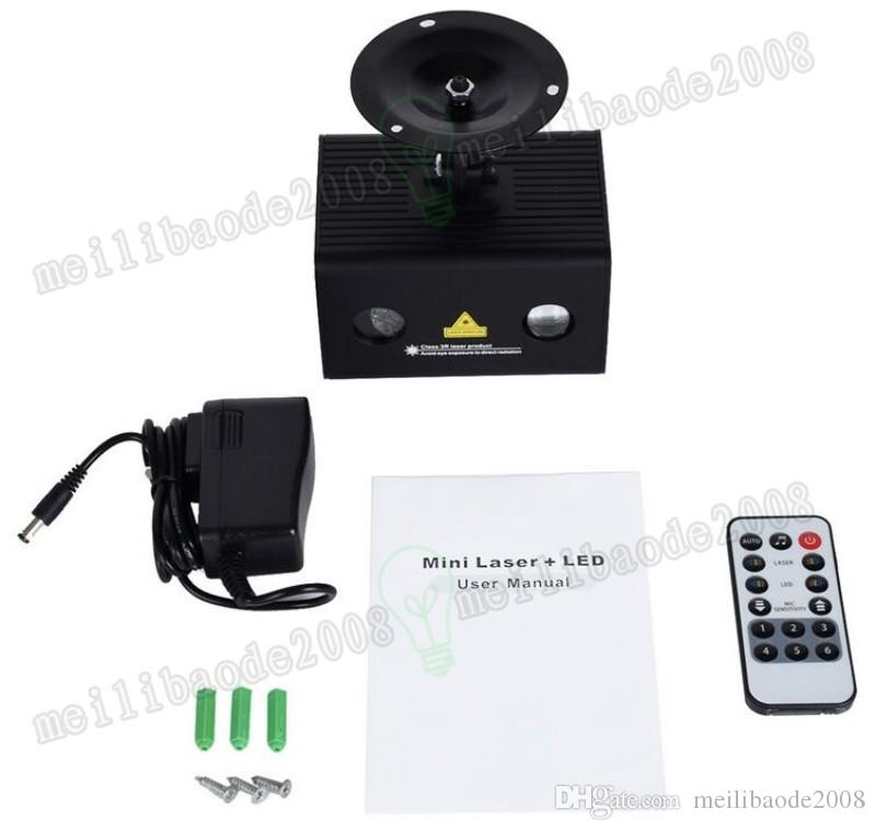 New Music Laser Light, Aurora effect Star Projector, Combining Full Color LED Lighting, Wireless Remote Control and Sound Active MYY