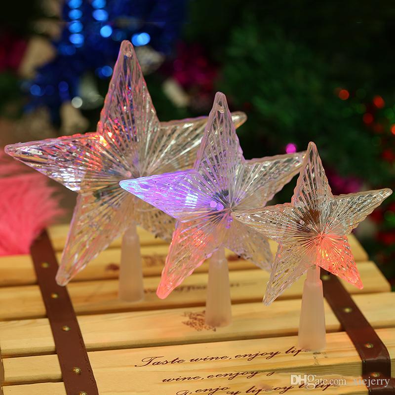 gro handel f hrte funkelnde sterne f hrte weihnachtsstern weihnachtsdekor beleuchtet im freien. Black Bedroom Furniture Sets. Home Design Ideas