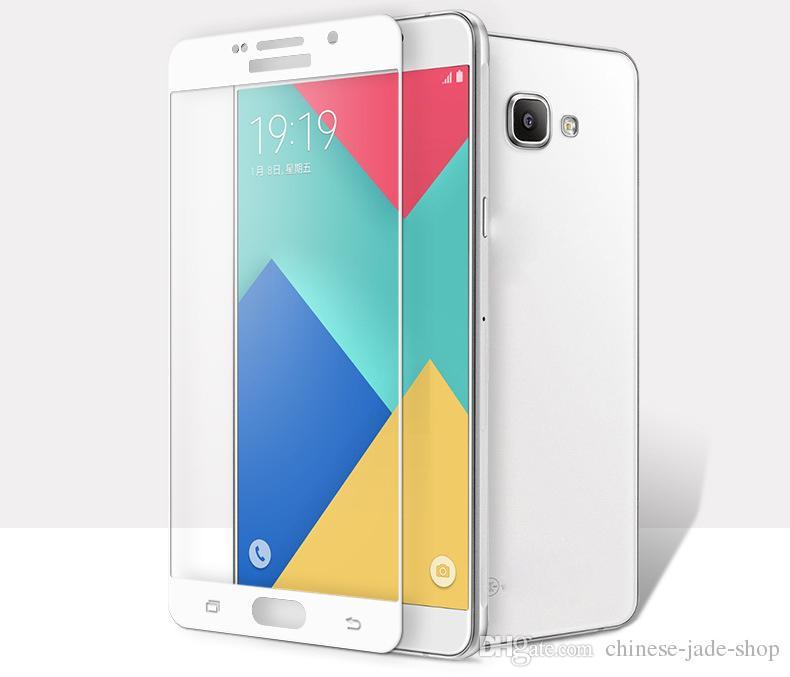 6657e21a90a Compre Para Samsung Galaxy J2 Pro 2018 A6 A6 PLUS 2018 J7 9 H Cobertura  Completa Colorido Protetor De Tela De Vidro Temperado Proteção Explosão De  Chinese ...