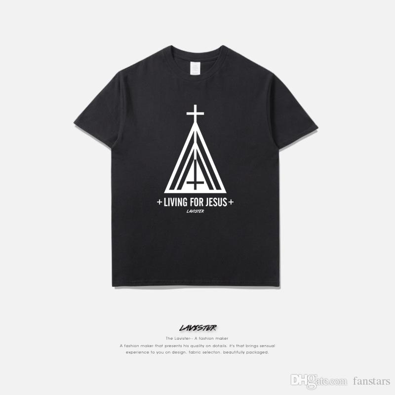 2017 New Mens Christian T Shirts, 100% Cotton Short Sleeves White ...