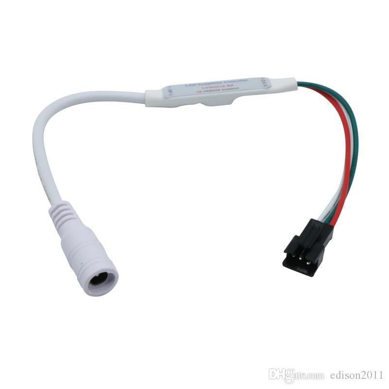 Edison2011 الجديد RGB تحكم 21 مفتاح تحكم بكسل للقطاع ادى WS2811 TM1804 بكسل وحدة الضوء DC5V-24V تحكم مجلس الوزراء