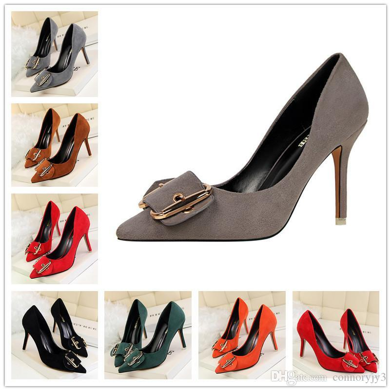6455de9ce579 2017 Leather D Orsay Heels Party Shoes Bowtie Sexy Thin High Heel Pumps Top  Quality Weeding Shoes Pointed Shoes Women Pumps Womens Sandals Orthopedic  Shoes ...