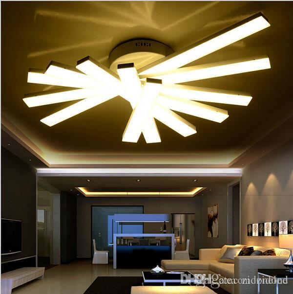 2018 2017 Creative Modern Minimalist Led Ceiling Lights For Living Room  Bedroom Deckenleuchten Led Ceiling Fixtures Abajur Led Ceiling Lamp From  Zidone, ...