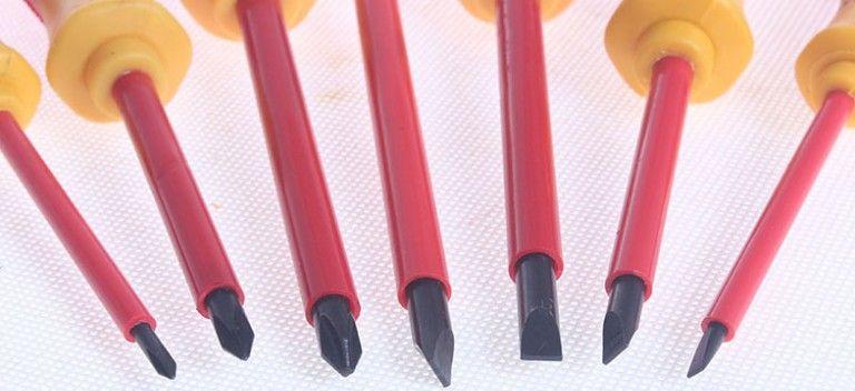 Praktische 6 stücke Elektriker Schraubendreher Set Werkzeug Elektrische voll isolierte Hochspannung Multi Spindelkopf Typ Elektrische Wartungswerkzeuge