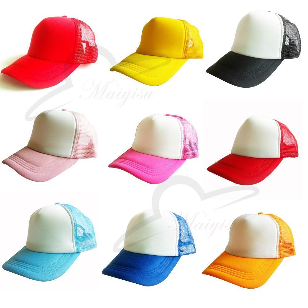 d9e3125603d Wholesale Unisex Casual Plain Hat Solid Baseball Cap Net Trucker Mesh Blank  Visor Hat Adjustable For Woman Man Trucker Cap Snapback Caps From  Goodlines