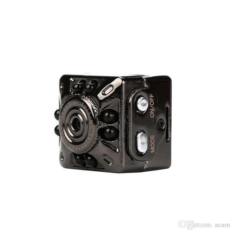 SQ10 Mini DV Cámara portátil 1080P HD Car DVR Visión nocturna Video Recorder Cámara de seguridad de detección de movimiento Nuevo