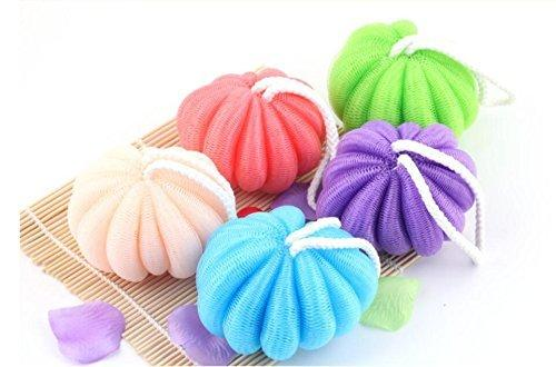 Bath Pouf Mesh Shower Sponge Exfoliating Cleanse Soothe Skin Loofah Gorgeous Mini Loofah Poufs