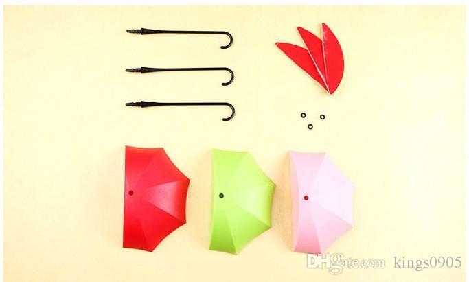 Creative Umbrella Shaped Key Holder Hanger Wall Shelf Rack Home Storage Organizer Kitchen Accessories