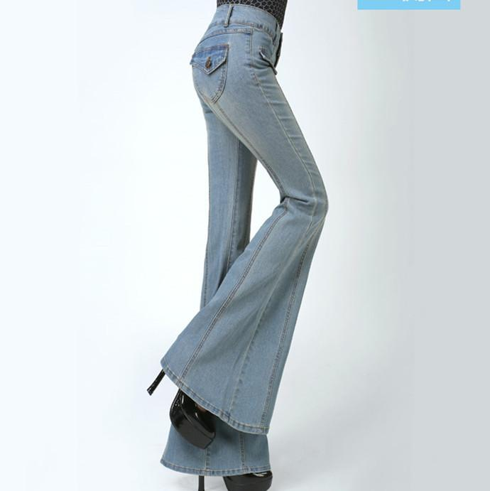 High waisted flare jeans wholesale