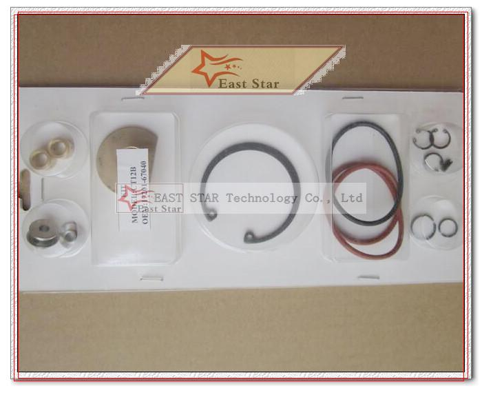Turbo Repair Kit rebuild CT12B 17201-67010 17201-67040 Turbocharger For  TOYOTA Landcruiser HI-LUX Prado 1KZ-TE 1KZTE KZN130 3 0L