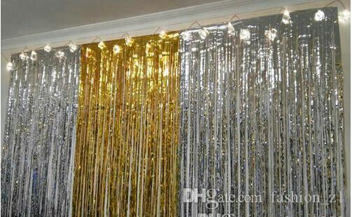 Wholesale Rain Curtain Birthday Decoration Decorative