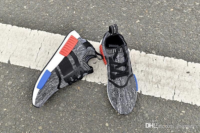 5ddf6d7651c61 2019 2019 Wholesale NMD R1 Primeknit PK Runner NMD X Footlocker NOMAD Womens  Mens Sports Running Athletic Sneakers Shoes Size 36 46 With Box From  Journeys