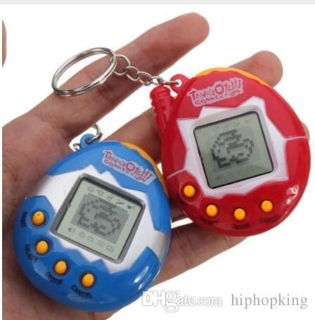 Hot Sale Retro Game Nostalgic Keychain Electronic Digital Pet Cyber ... a2829caf3430