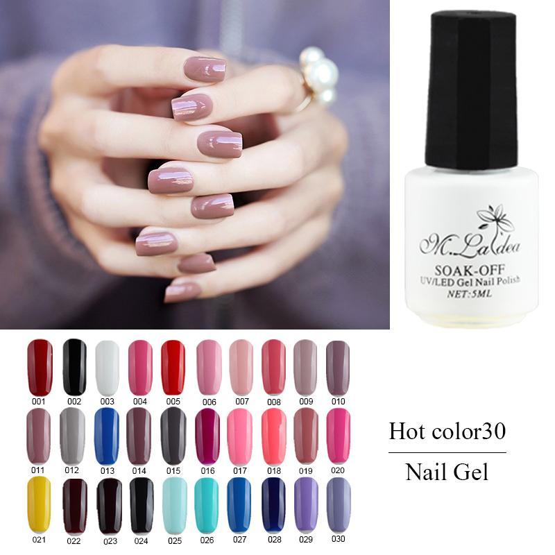Wholesale M.Ladea Nail Gel Polish Nail Art Design Long Lasting New ...
