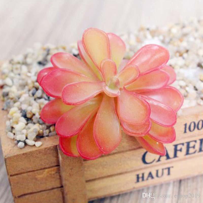 2017 nouvelle Artificielle Plante Succulente Rouge Artificielle Miniascape / Bonsaï / En Pot Maison Balcon Décoration Fleur Décorative livraison gratuite