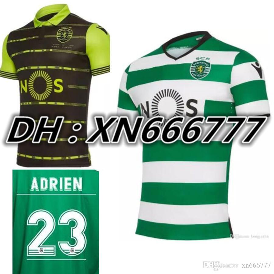 ... shirt 2016-17 NANI 17 2017 2018 Sporting Clube De Portugal Lisbon Dost  Martins Soccer Jersey 17 18 Luis Figo Nani ... 2c497cbf0