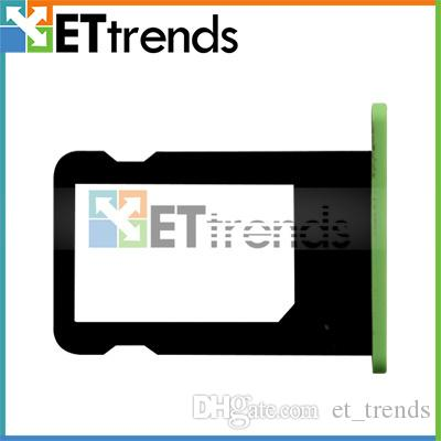 Сим-карты лоток держатель для iPhone слот 5C Sim Card Adapter Sim Card 5 цветов Бесплатная доставка по DHL