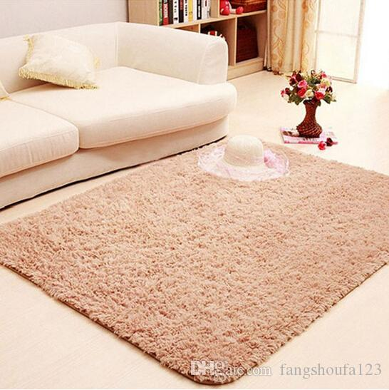 Shag Pink Area Rugs For Home Living Room Floor Carpet Bed