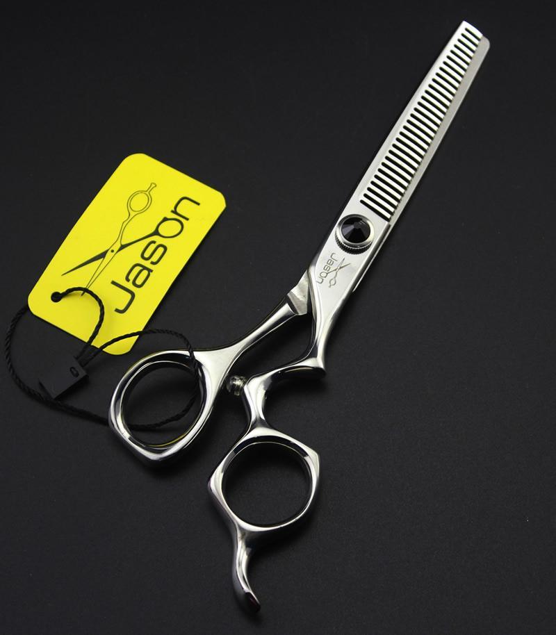 6.0Inch Jason Professional Hairdressing Scissors Kits Cutting & Thinning Scissors JP440C Hair Scissors Hair Shears Barber Scissors, LZS0529
