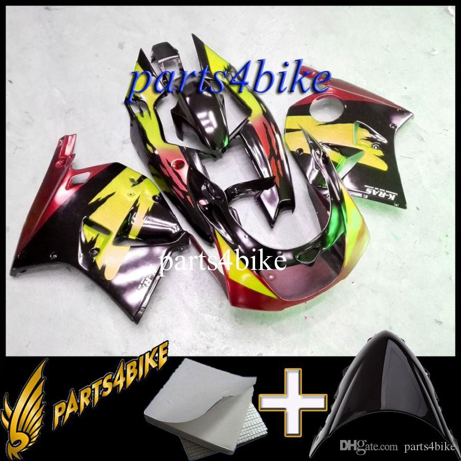 ABS Fairing for Kawasaki ZXR250 93 97 ZX R250 1993-1997 93 94 95 96 97 purple pink black Motorcycle Body Aftermarket Plastic