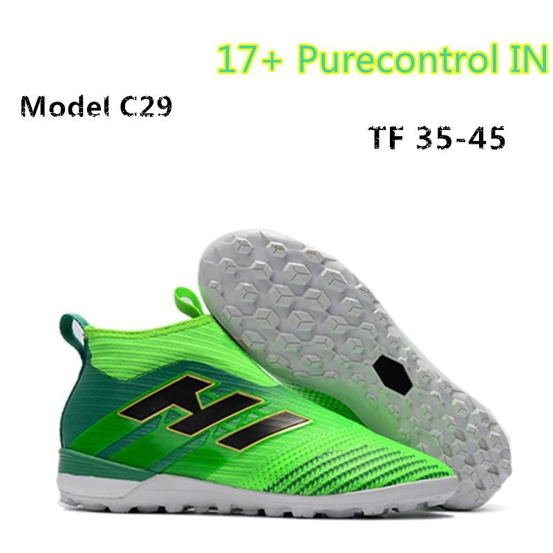 2019 New 2018 Red ACE Tango 17+ Purecontrol 35 45 Kids Soccer Cleats FG  Children Football Boots Womens Indoor Soccer Shoes From Sports market 203c6bdce