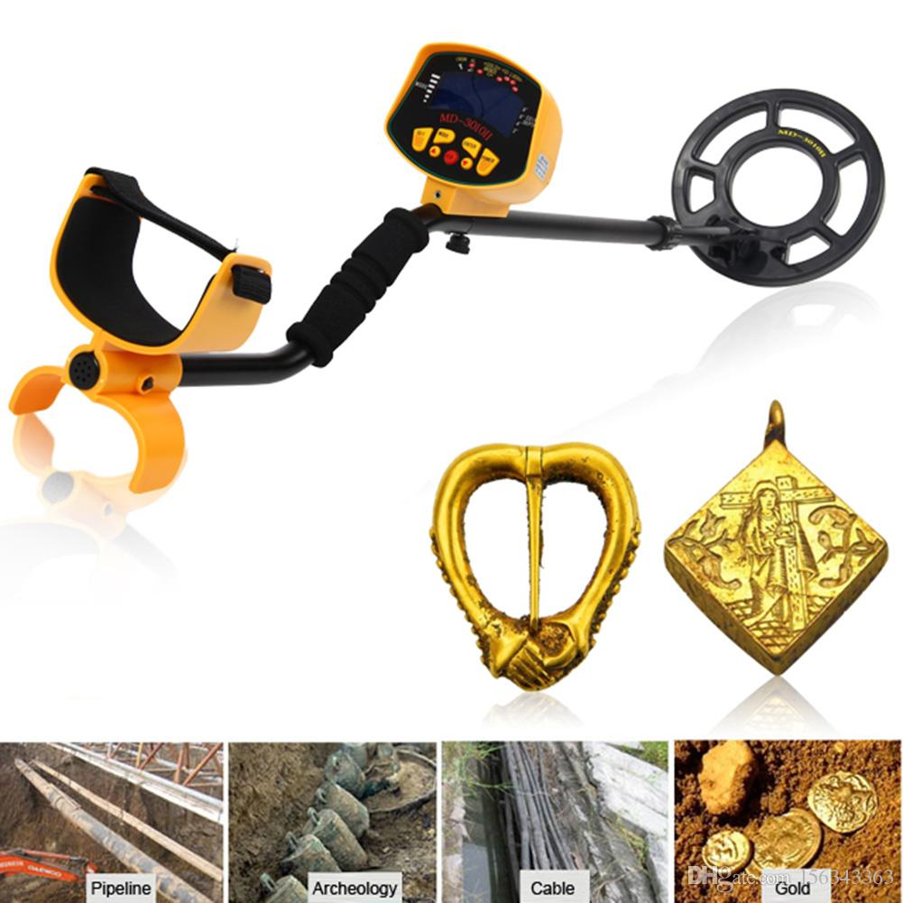 High Quality Metal Detector LCD Screen Deep Target Power Coils High Performance Underground Industrial Metal Detectors