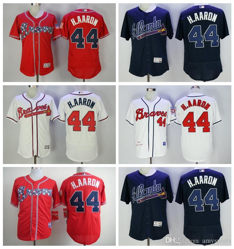 ba85b82b ... mitchell ness 40 e790a 0d1de; norway 2017 2017 atlanta braves jersey  mens 44 hank aaron mlb baseball jersey stitched milwaukee braves