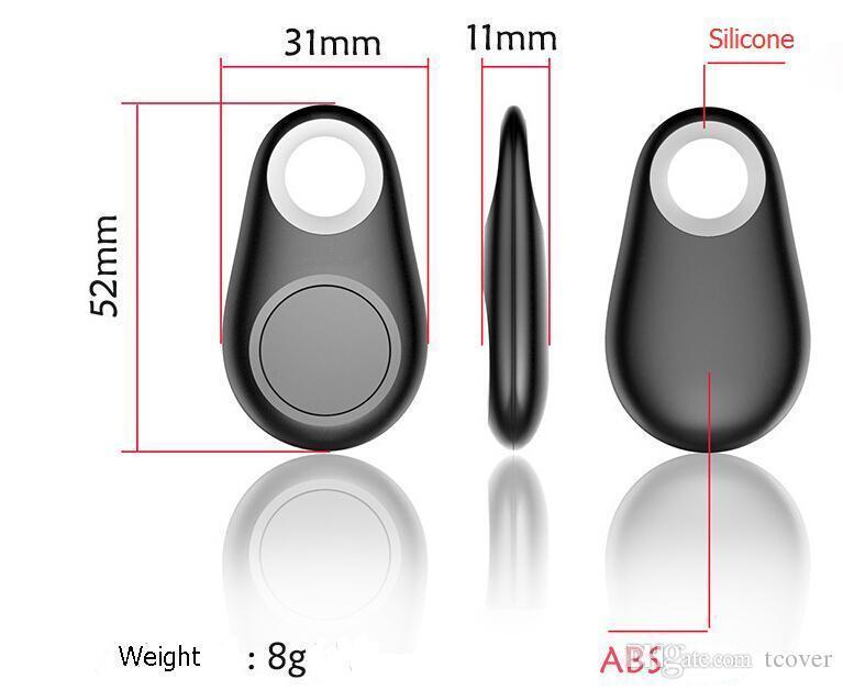 ZOOKOTO Mini GPS Tracker Buscador de llaves por Bluetooth Alarma 8g Buscador de artículos bidireccional para niños, mascotas, ancianos, carteras, automóviles, paquete minorista de teléfonos