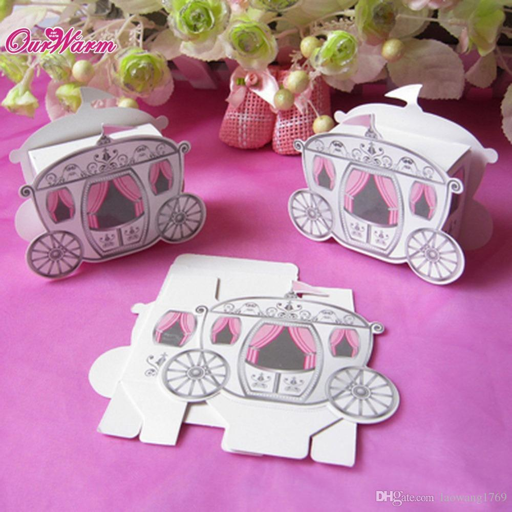 Online Cheap Wedding Candy Box Favors Gift Box Cinderella Enchanted ...