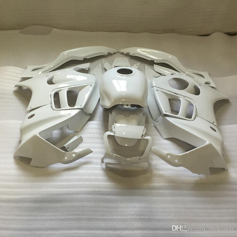 Free customize Fairing kit for Honda CBR600 F3 95 96 white body fairings set CBR 600 F3 1995 1996 OT02
